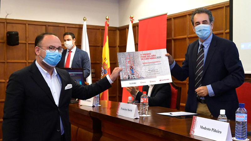"""Netboss """"empresa Digital e Innovadora 2020"""" de Cantabria"""